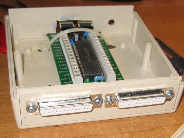 Freddo's Mame Cabinet: IPac Wiring, Speakers, And Powerstrip